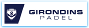 Affiche les girondins Padel